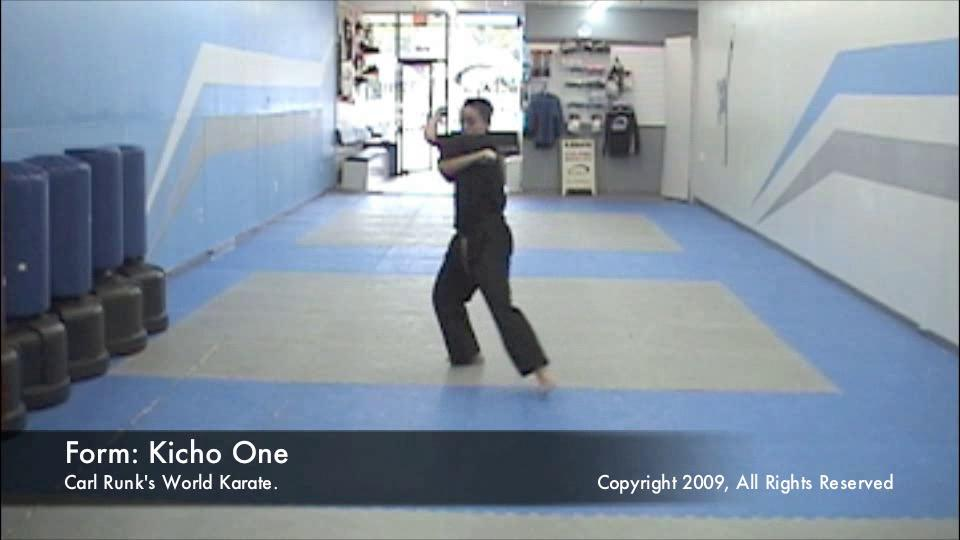 thumbnail of Ki Cho One Jang demonstration video