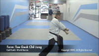 thumbnail of Tae Geuk Chil Jang demonstration video