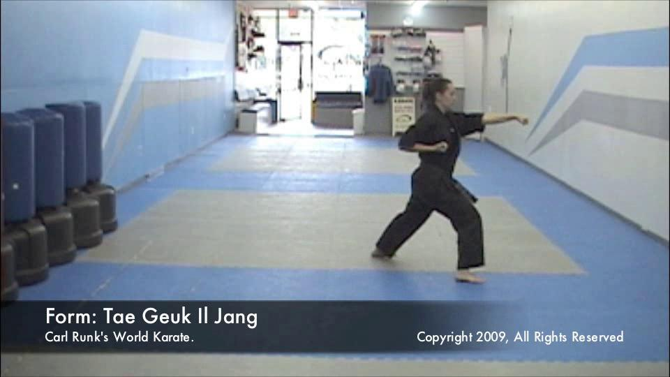 thumbnail of Taegeuk Il Jang demonstration video