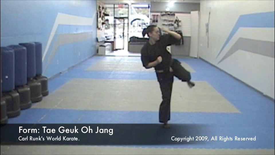 thumbnail of Taegeuk Oh Jang demonstration video