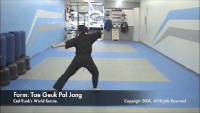 thumbnail of Tae Geuk Pal Jang demonstration video