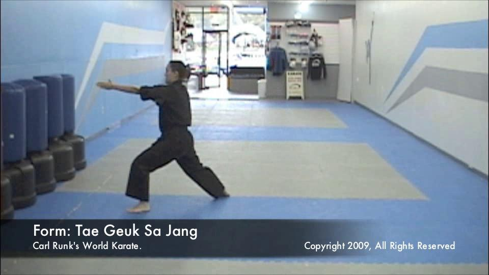 thumbnail of Taegeuk Sa Jang demonstration video
